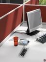 Easy Space pregrada oblazinjena zmanjša hrup v pisarni